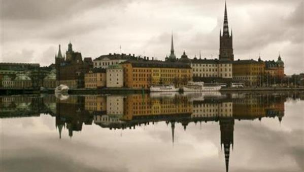 Bob Strong / Reuters The old town district of Stockholm, March 2009.