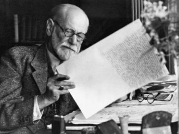 Image: Sigmund Freud published his paper about the unconscious in November 1915. Photograph: Corbis