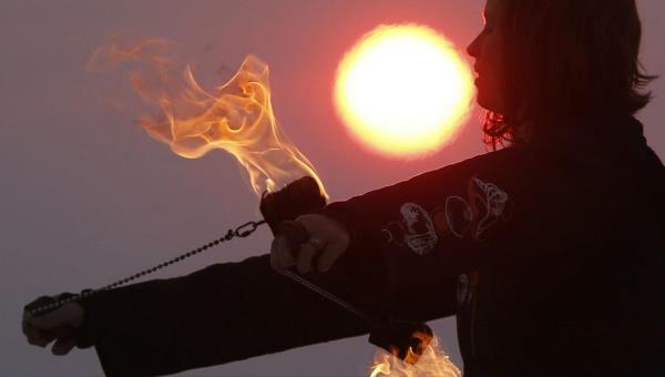 Many entrepreneurs feel as though they are playing with fire. (Jim Urquart/Reuters)
