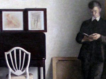 idea_sized-Vilhelm_Hammershoi_1898_-_Interior_med_laesende_ung_mand
